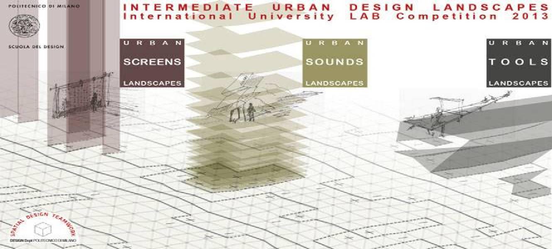 Spatial design teamwork politecnico di milano scuola del for Scuola design polimi