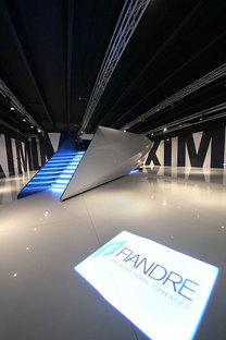 GranitiFiandre presenta la nuova sala mostra dedicata alle lastre Maximum