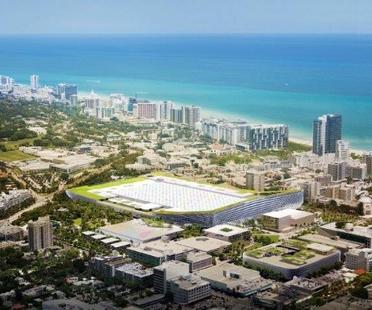 BIG progetto del Miami Beach Convention Center