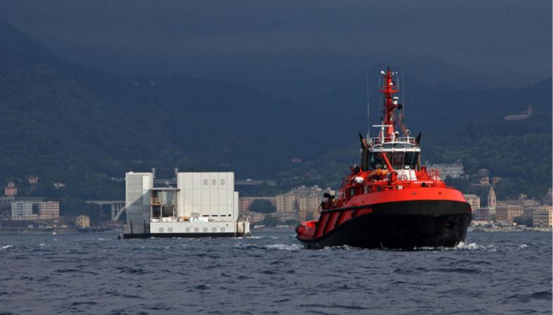 Renzo Piano nuovo Padiglione Cetacei Acquario Genova