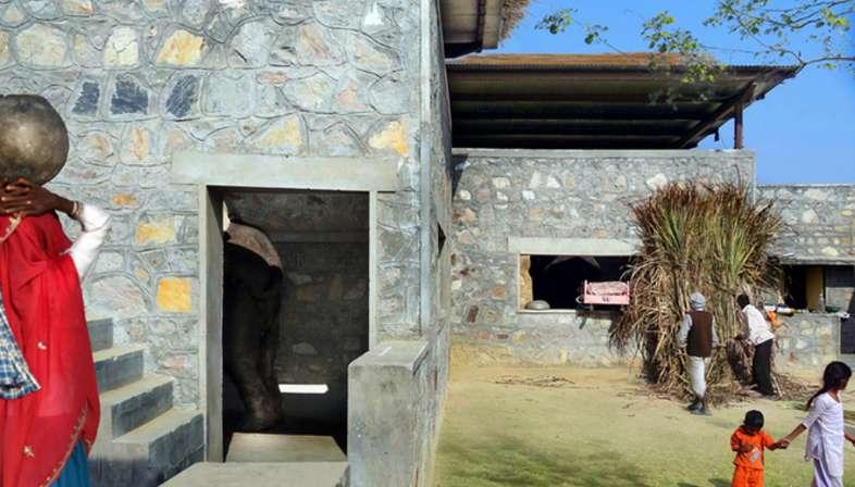 RMA Architects, Hathigaon residenze per elefanti e custodi