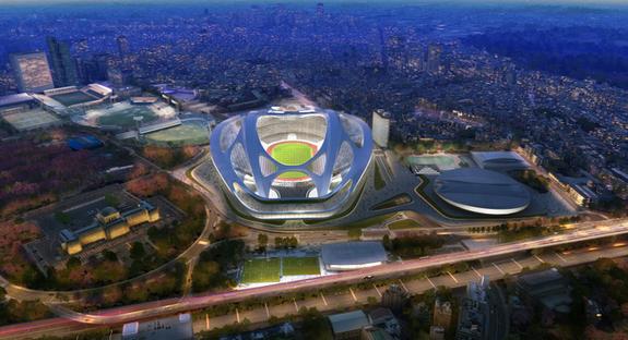 Zaha Hadid, New National Stadium - Tokyo Olimpiadi 2020