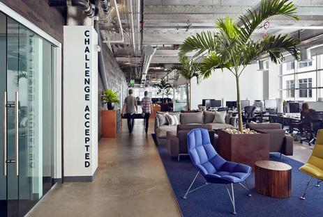 Ambiente creativo per Dropbox, San Francisco. Geremia Design.