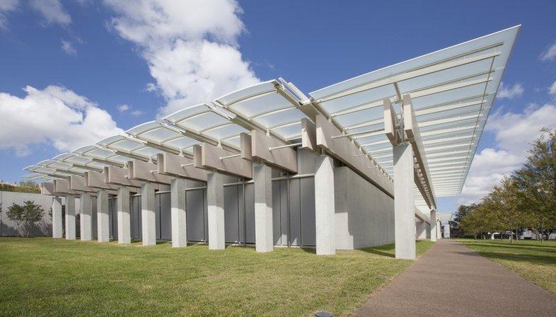 Renzo Piano, pavilion Kimbell Art Museum