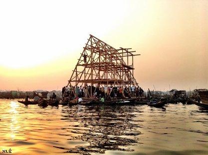Kunlé Adeyemi, Nlé Architects - Makoko. © Nlé Architects