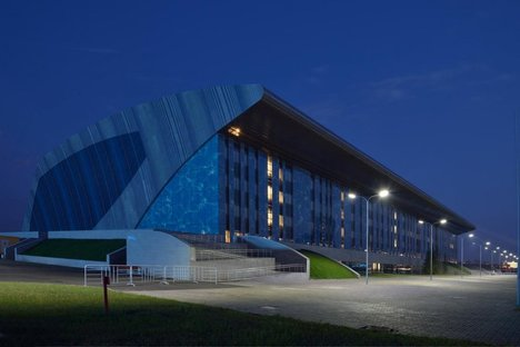 Studio SPEECH: Palazzo degli sport acquatici a Kazan.