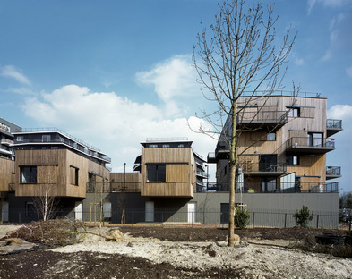 Ginko Eco-Neighbourhood di Nicolas Laisné e Christophe Rousselle