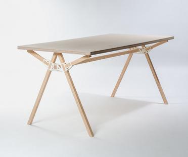 Il primo premio di Interieur Awards 2014 ad un tavolo che sfrutta la stampa 3D