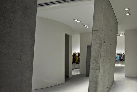 Tadao Ando a Milano per il nuovo showroom e flagship store Duvetica