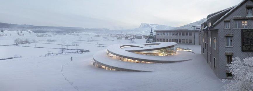 BIG rivela il progetto per il Museo del brand Audemars Piguet