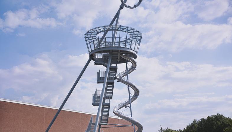 Carsten Höller Vitra Slide Tower, un nuovo edificio per il Vitra Campus