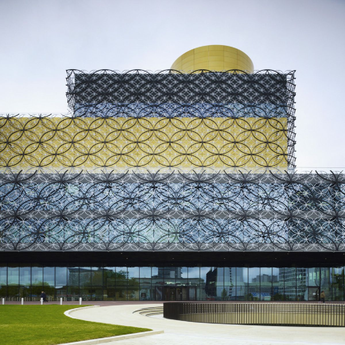 Tivoli Birmingham Al: Biblioteca Di Birmingham Mecanoo Vince Il RIBA 2014