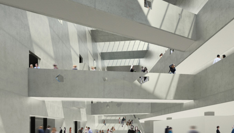 Bernard Tschumi Architects Centro Culturale ANIMA