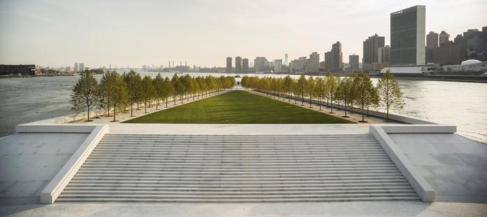 Louis Kahn Franklin D. Roosevelt Four Freedoms Park New York ph. Paul Warchol
