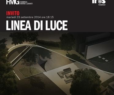 Inaugurazione Linea di Luce, spazi outdoor showroom IRIS e FMG