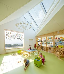 Dorte Mandrup Arkitekter progetta il Råå Day Care Center in Svezia