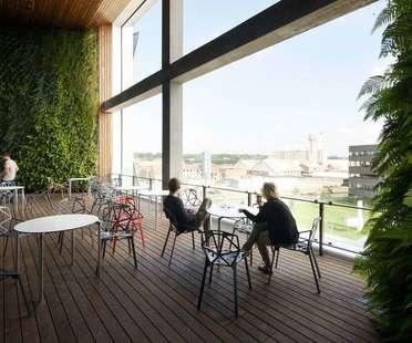 Henning Larsen Architects inaugura il Kolding Campus in Danimarca