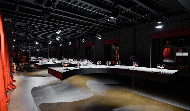SuperSurfaceSpace Gallery del Gruppo Iris, progetto Metrogramma, Mosca