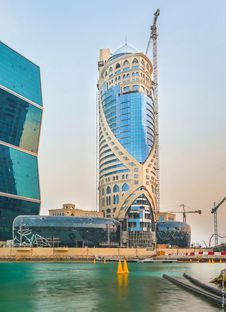 South West Architecture con FMG per la Falcon Tower di Doha