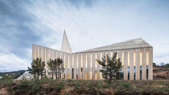 Reiulf Ramstad Arkitekter (RRA) e la Community Church a Knarvik