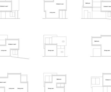 House in Chayagasaka di Tetsuo Kondo Architects in Giappone