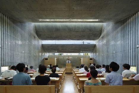 Takeshi Hosaka e la Shonan Christ Church a Fujisawa Giappone