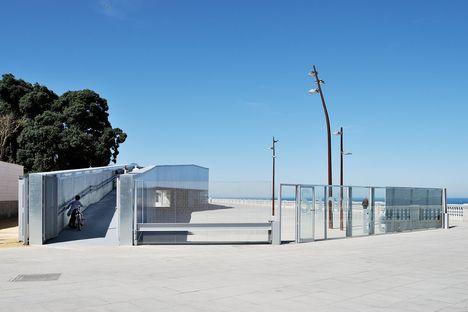Belvedere ed edificio difensivo del Parco Genovese a Cadice
