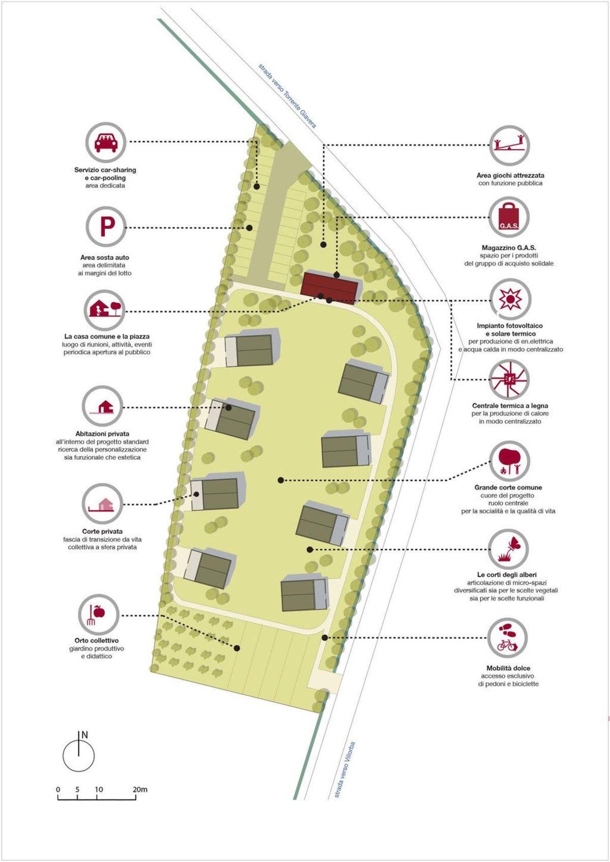 Quattro passi, Villorba, ecoquartiere di TAMassociati