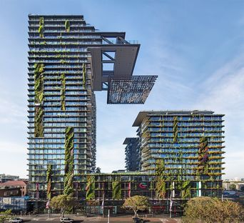 Jean Nouvel e le residenze green One Central Park a Sidney