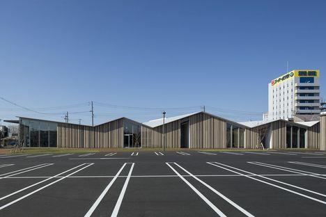 Kengo Kuma progetta il centro comunitario Towada City Plaza