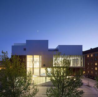 Dorte Mandrup e il complesso SH2-Sundbyoster Hall 2 a Copenaghen