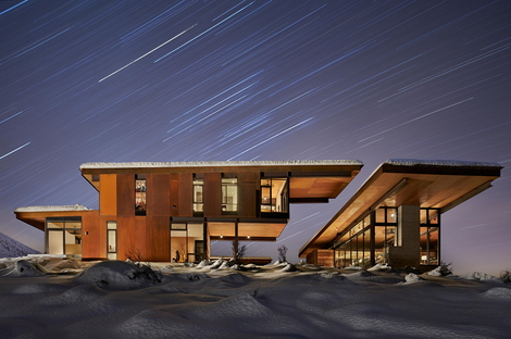 Olson Kundig, l'antirifugio Studhorse, Methow Valley (USA)