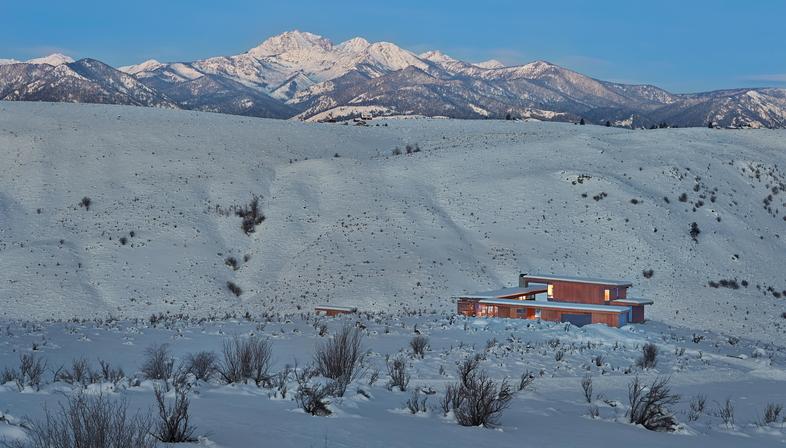Olson Kundig, l'antirifugio Studhorse, Methow Valley (USA)