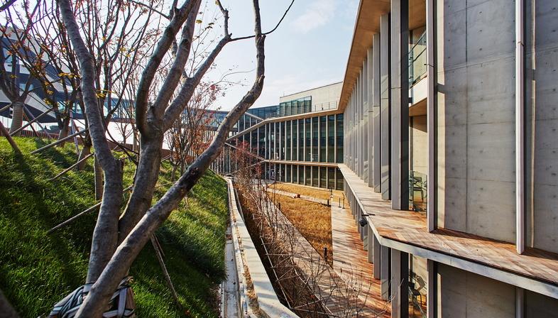 Kengo Kuma progetta l'istituto Naver Connect one in Corea