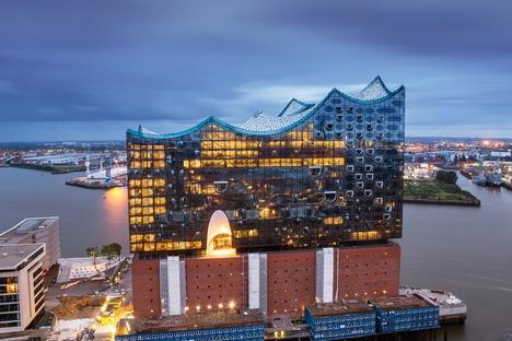 Elbphilharmonie di Amburgo di Herzog & De Meuron