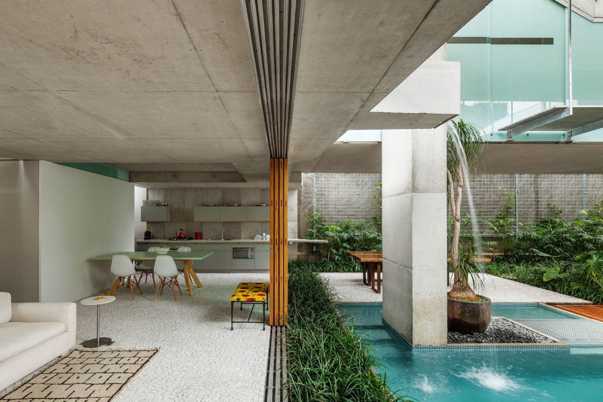 spbr arquitectos: casa per il fine-settimana a San Paolo