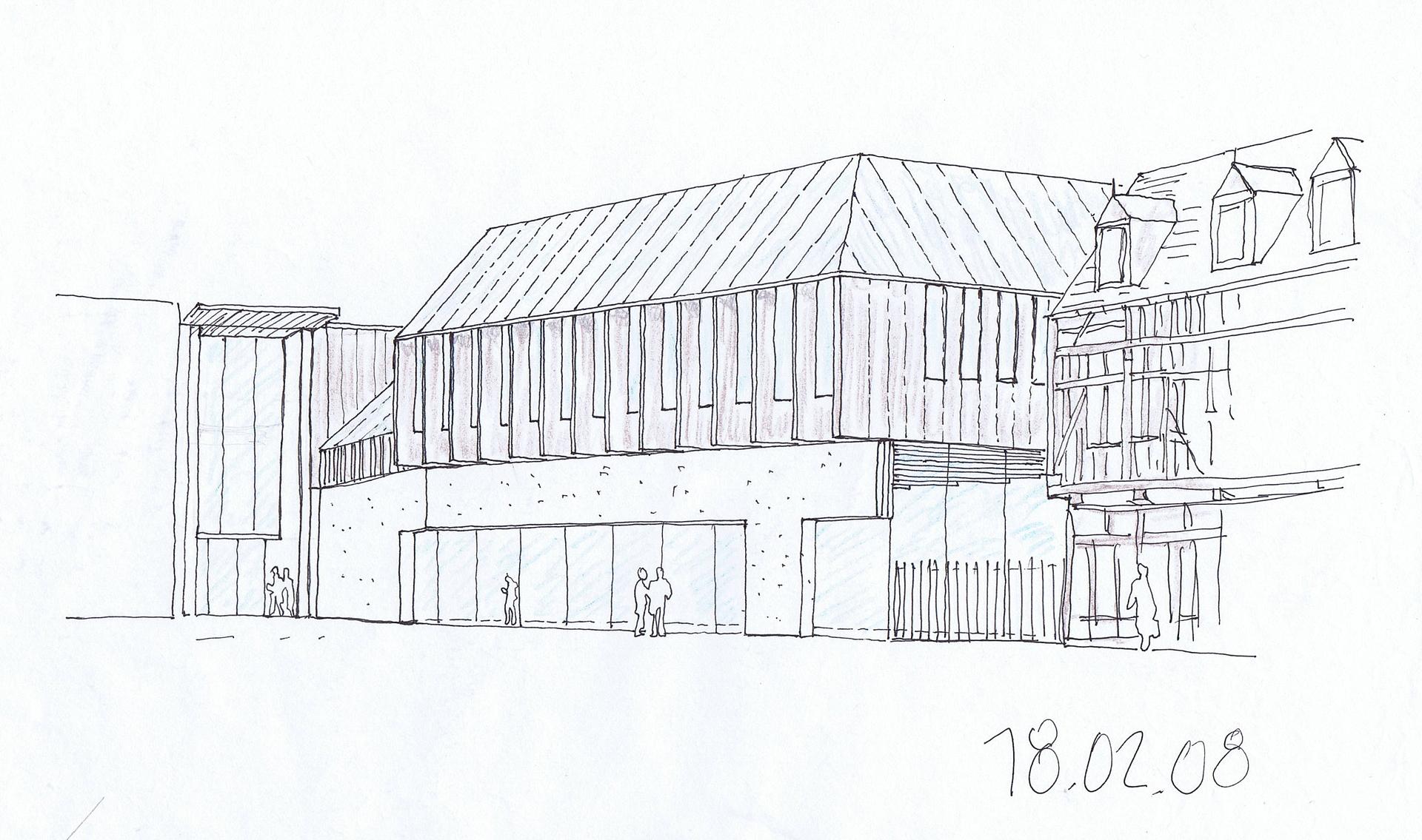 Linazasoro Sanchez: Centro amministrativo e dei congressi Troyes