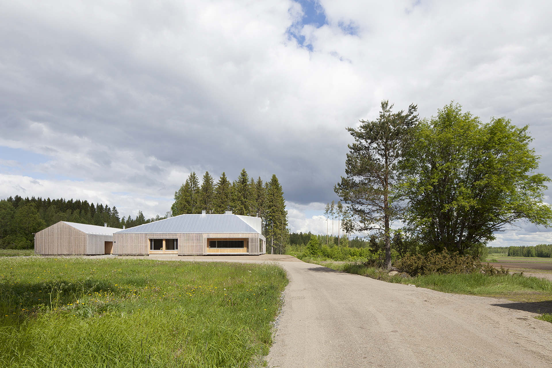 OOPEAA: Casa Riihi a Alajärvi (Finlandia)