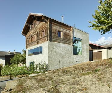 Casa Reynard Rossi-Udry di Savioz Fabrizzi architectes a Ormône
