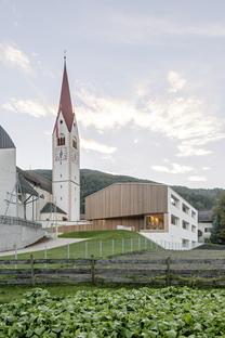Feld72 Architekten e l'asilo a Valdaora di Sotto