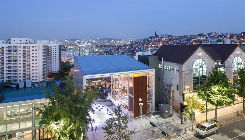 Moongyu Choi + Ga.A Architects: H Music Library Seoul