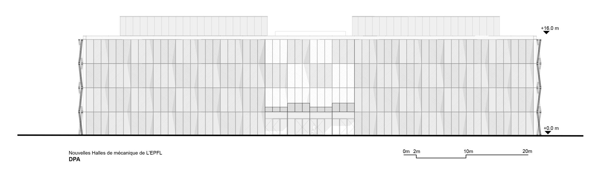 Dominique Perrault: recupero dell'ME building nell'EPFL Losanna