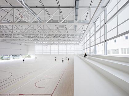 Alberto Campo Baeza: Multi-sport pavilion UFV a Madrid