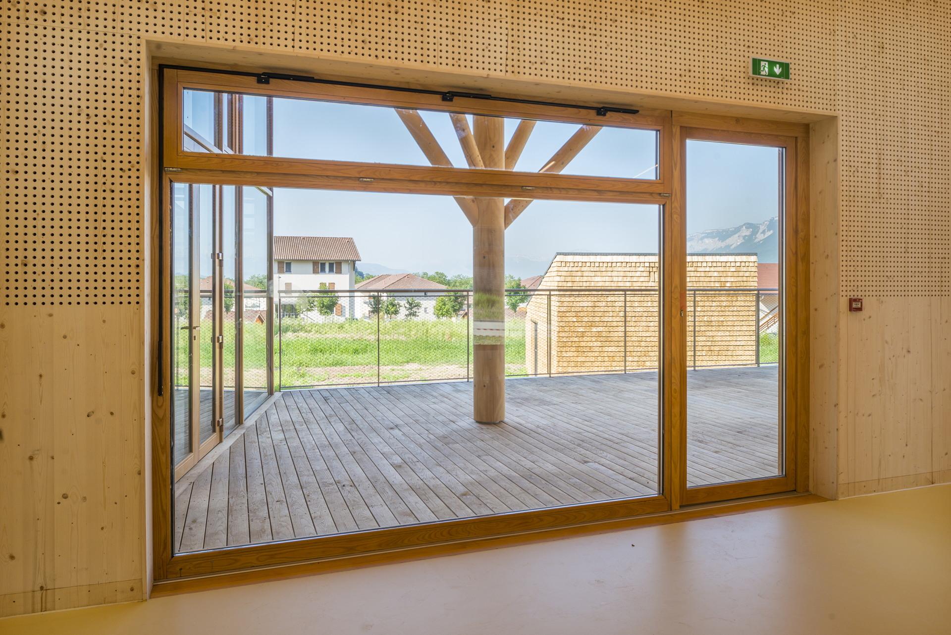 r2k architectes relais d 39 assistance maternelle a tencin francia floornature. Black Bedroom Furniture Sets. Home Design Ideas