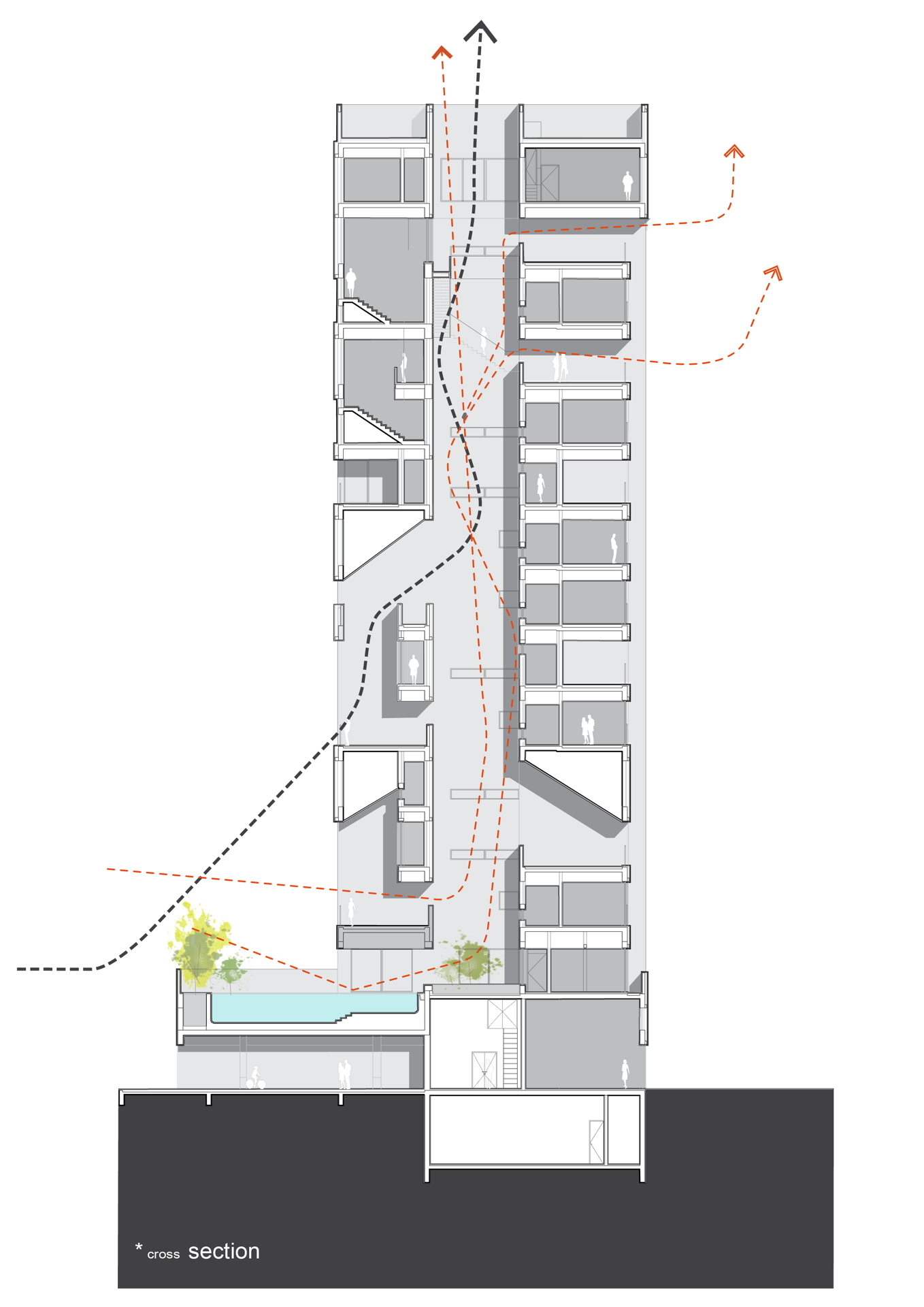 Agi Architects Wafra Vertical Housing Torre Del Vento A