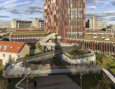 C.F. Møller: Maersk Tower, Panum Building a Copenaghen