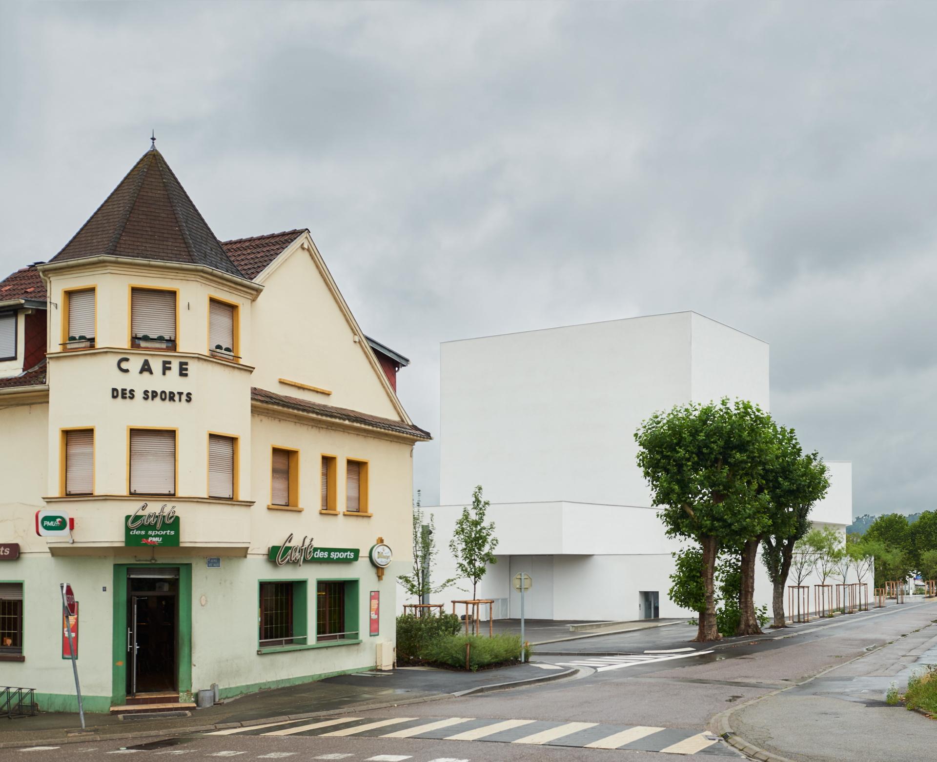 Dominique Coulon: Teatro Théodore Gouvy a Freyming-Merlebach