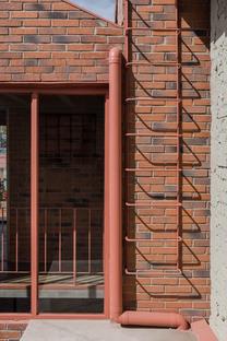 DOSA STUDIO: Casa Palmas a Texcoco, Messico