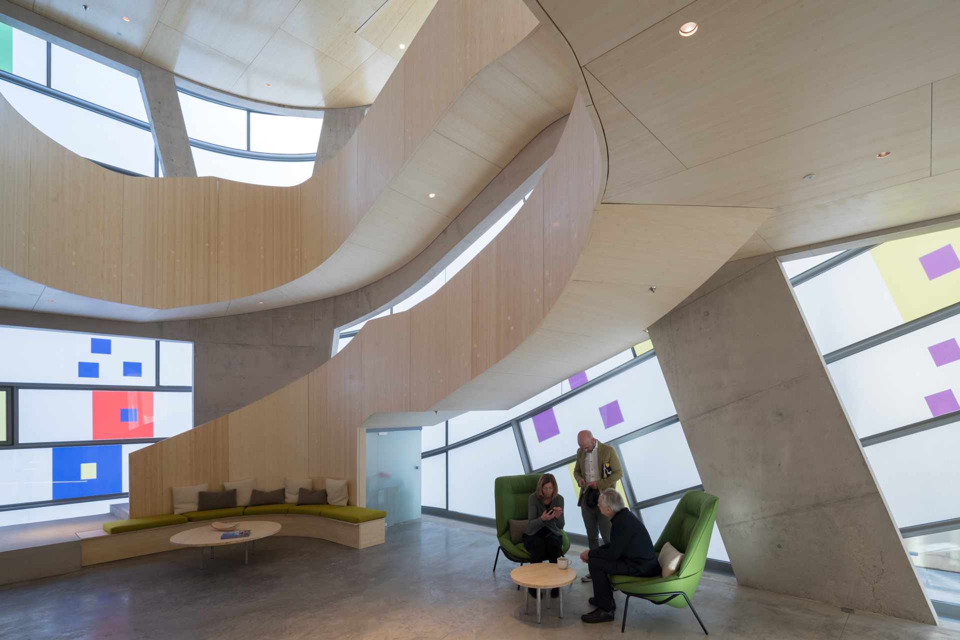 Steven Holl + jmarchitects: Maggie's Centre Barts Londra