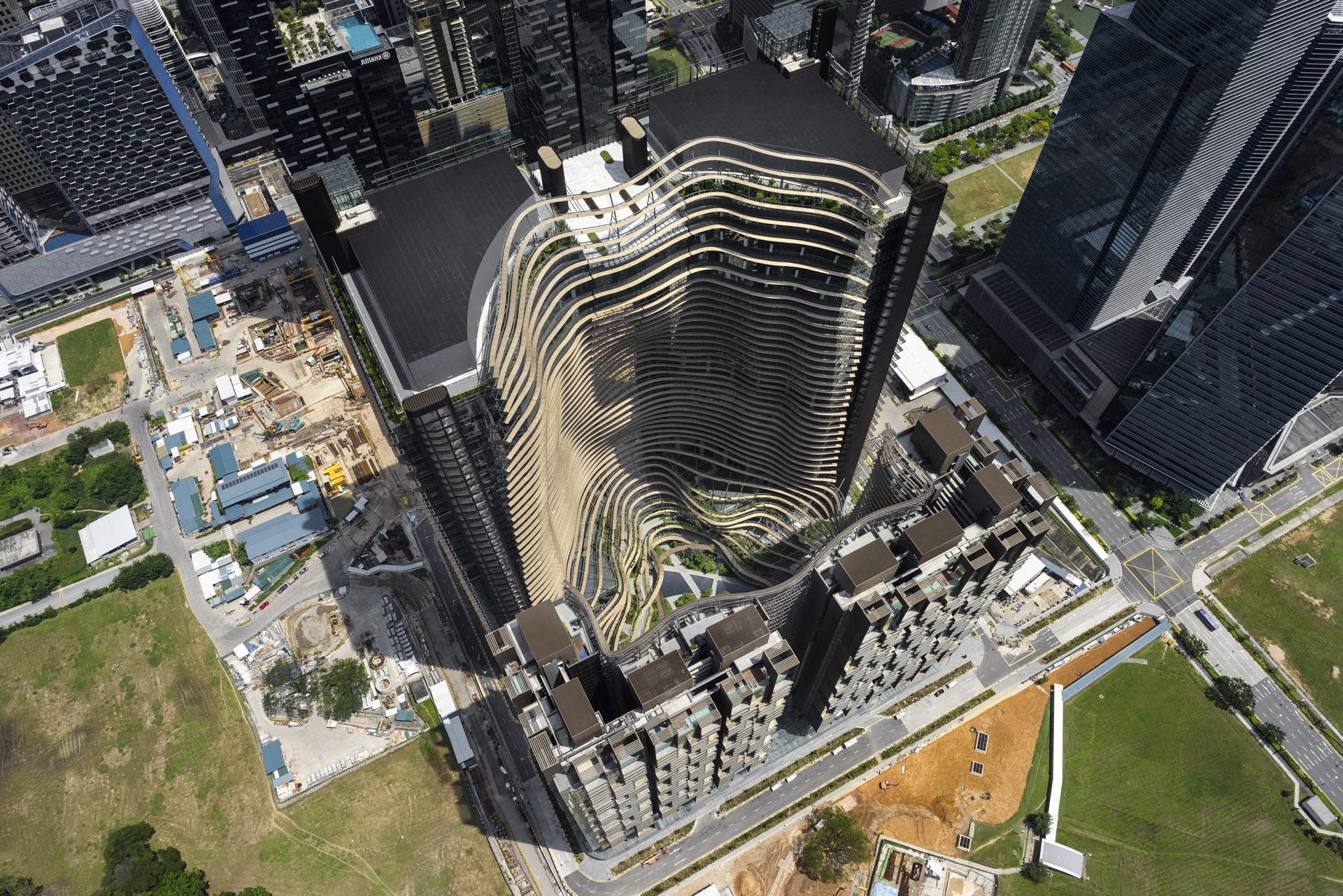 Ingenhoven architects: Marina One a Singapore